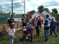 Nohejbalový turnaj o pohár starostky obce.