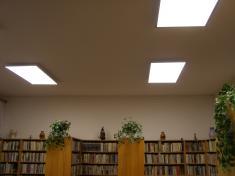 Světlo do knihovny r. 2017