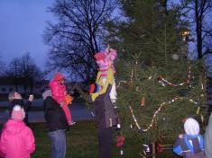 Zvonkový průvod a rozsvícení vánočního stromu